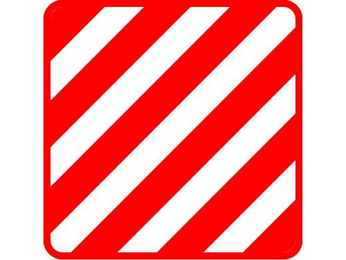 Знак крупногабаритный груз своими руками