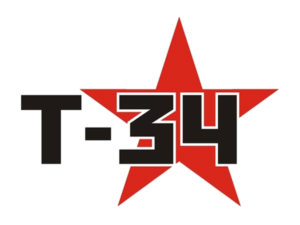 автостикер т-34 макет