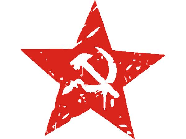 наклейка советская звезда макет