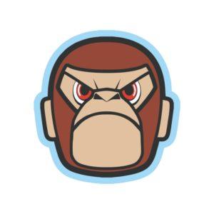 Наклейка JDM Gorilla