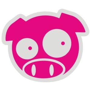 Наклейка JDM Subaru Pig