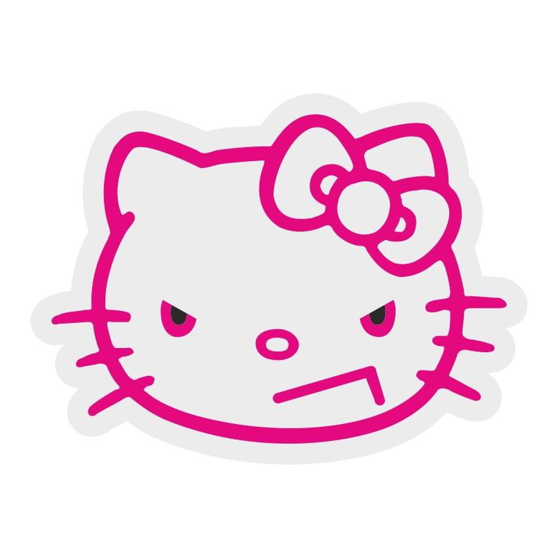 Наклейка JDM kitty