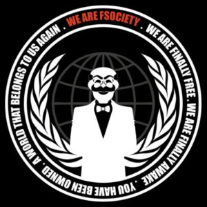Автостикер We are FSociety