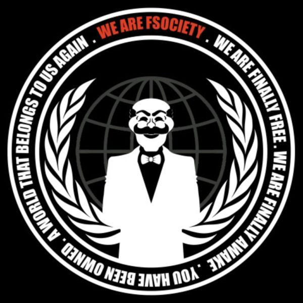 Автостикер We are FSociety