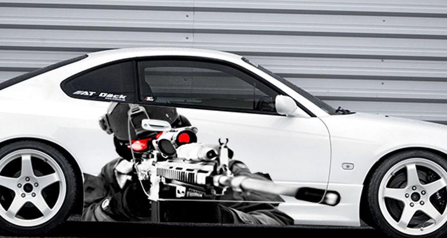 Ламинированные наклейки на автомобили