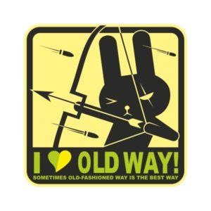 Автостикер JDM I love old way