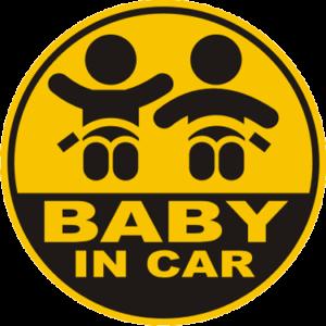 Наклейка Ребенок в машине. интернет-магазин ColorChita.ru