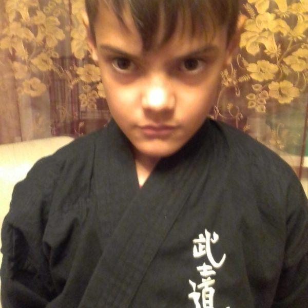 "Вышивка на кимоно ""Бусидо"""