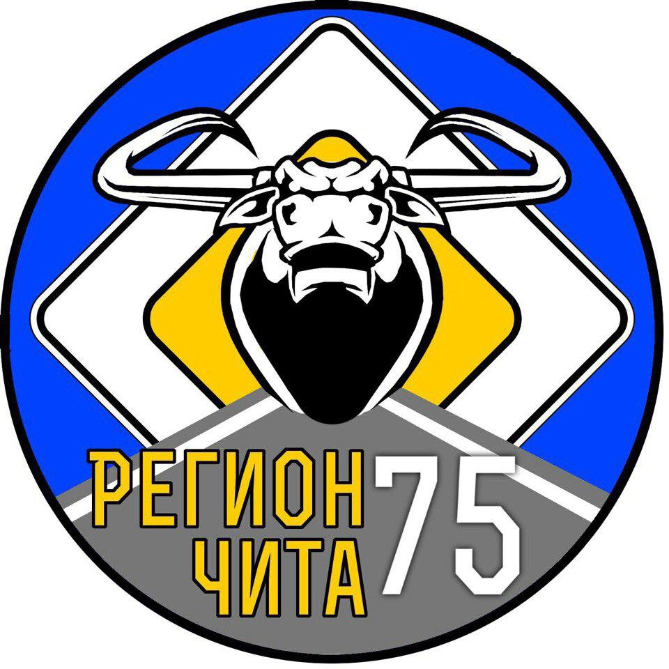 Наклейка Регион Чита 75