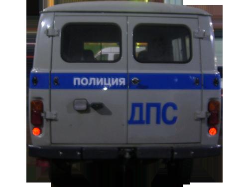 Декоративная полоса на УАЗ Санитарка 4 макет