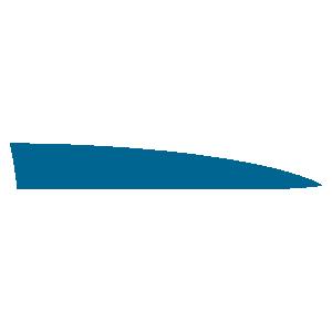Наклейка декоративная полоса Полиции УАЗ Патриот на правое переднее крыло