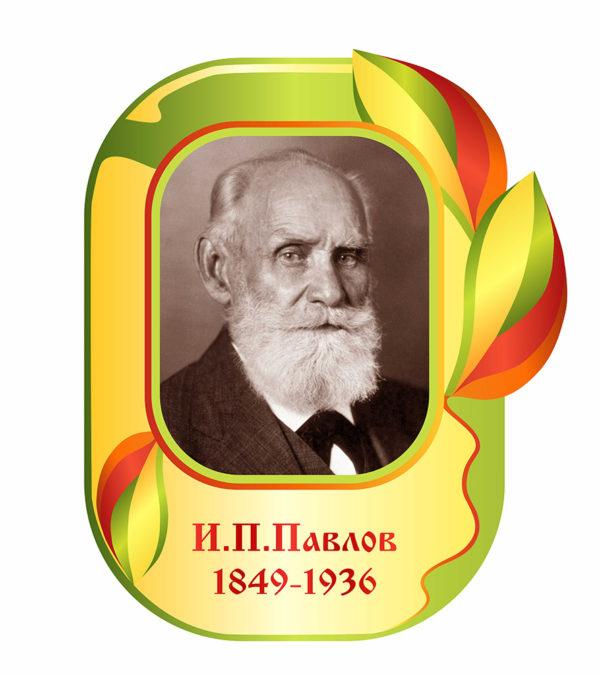 Портрет Павлова макет
