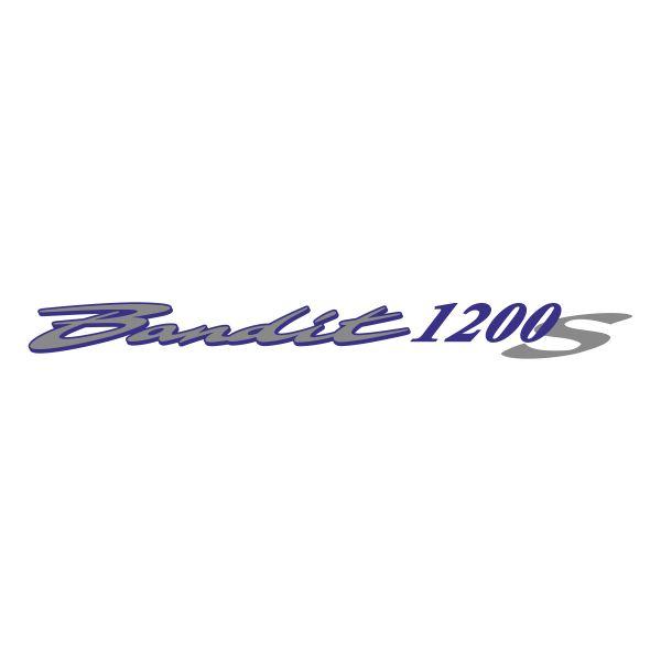 Наклейка на Suzuki Bandit 1200S 1 макет