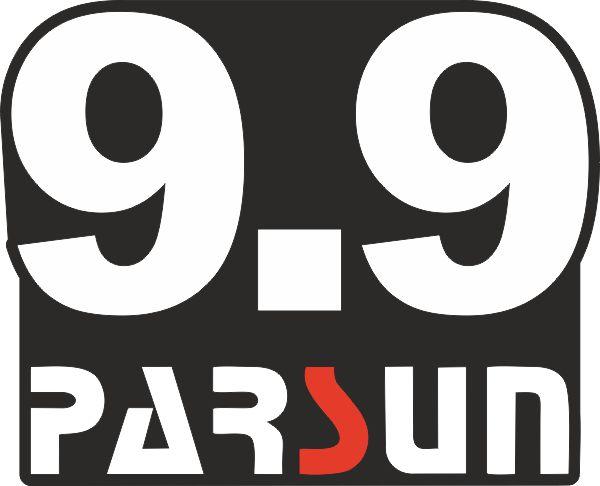 Наклейка на лодочный мотор Parsan 9.9 1 макет