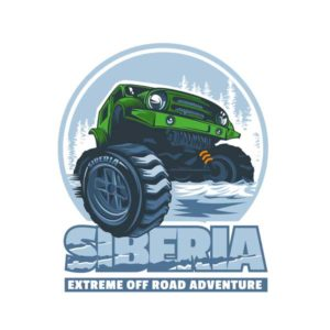 Наклейка SIBERIA Extrim off Road Adventure