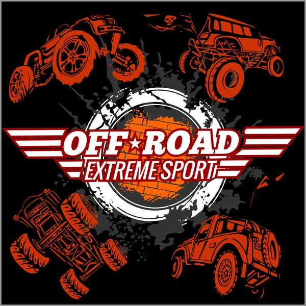 Наклейка Off Road Extrime Sport