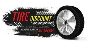 Эскиз наклейки Tire Discount