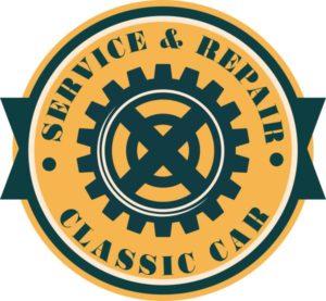 Наклейка service&repair classic car