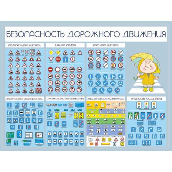 Стенд по БЖД для школы №8 1 макет