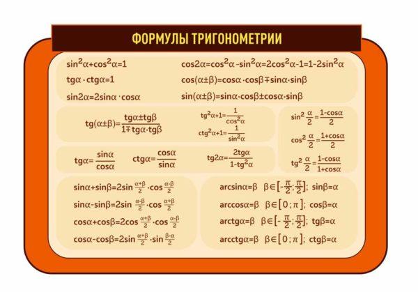 Стенд для кабинета Математики №89 1 макет