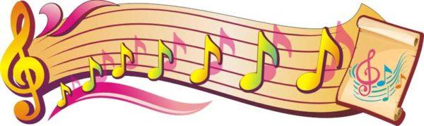 Стенд для кабинета музыки №09 1 макет