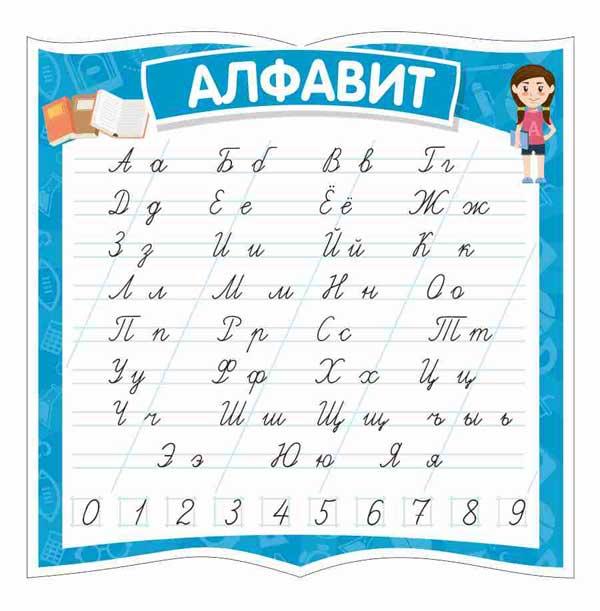Стенд для начальной школы №9 1 макет
